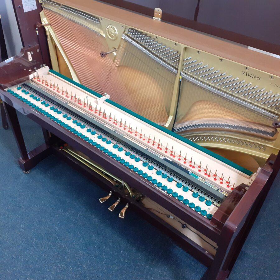 Yamaha V114 NS Silent upright piano frame