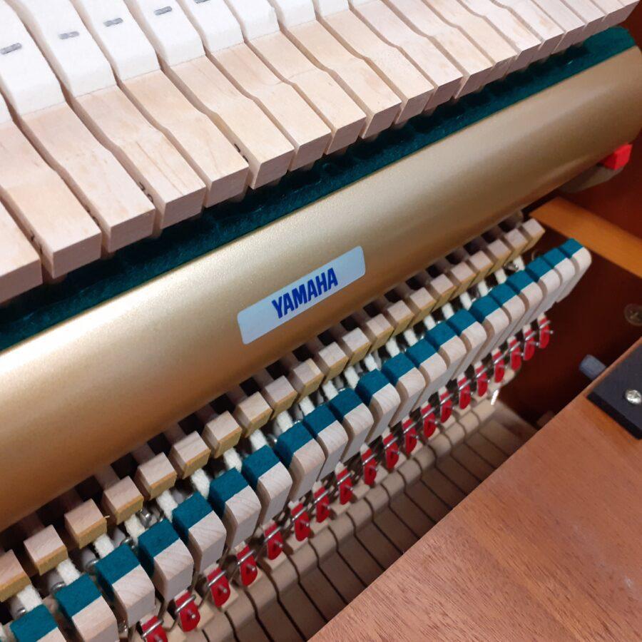 Yamaha P121 NT Upright Piano, SNC action