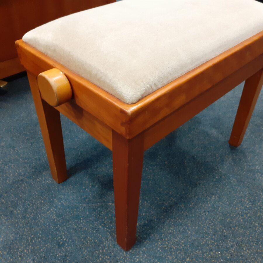 Yamaha P121 NT Upright Piano, SNC - Tozer 5018s stool