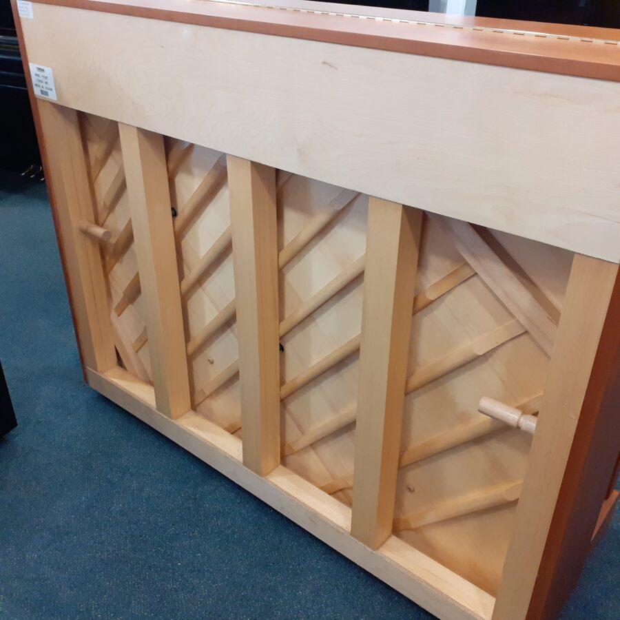 Yamaha P121 NT Upright Piano, SNC -Back frame and soundboard