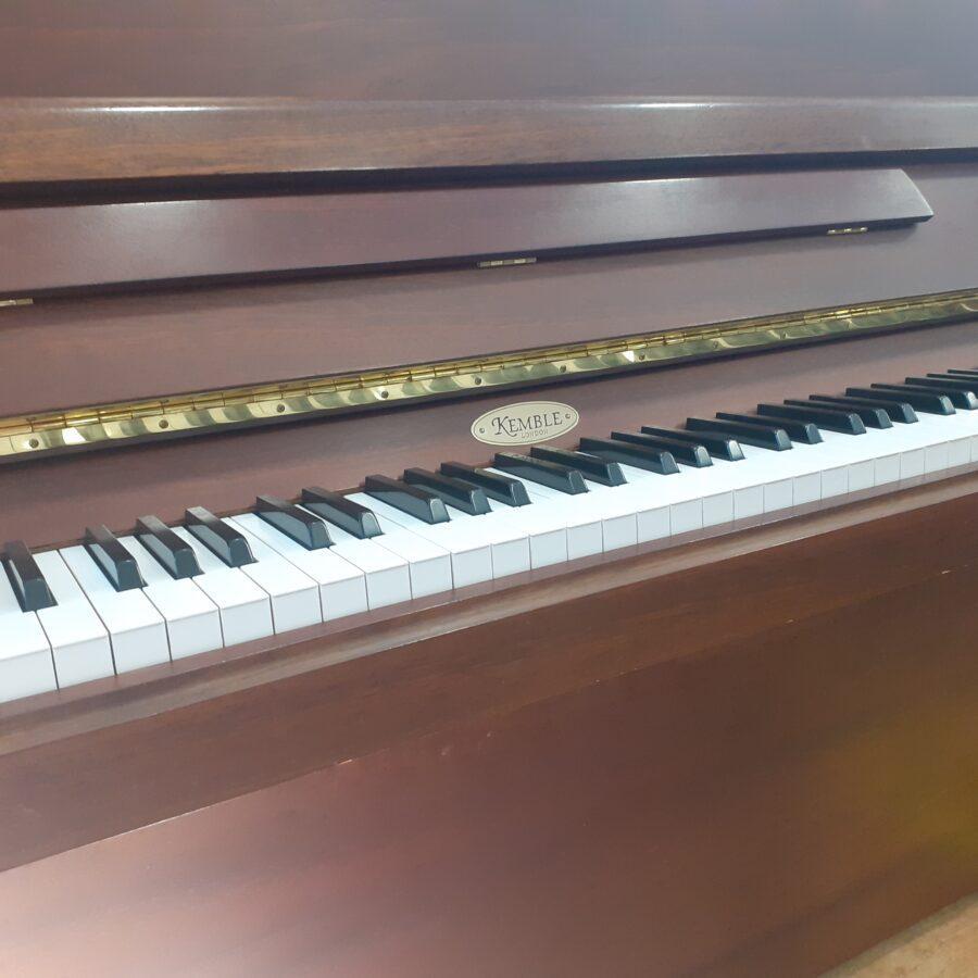 Kemble Cambridge 15 Upright Piano - Mahogany - Keys