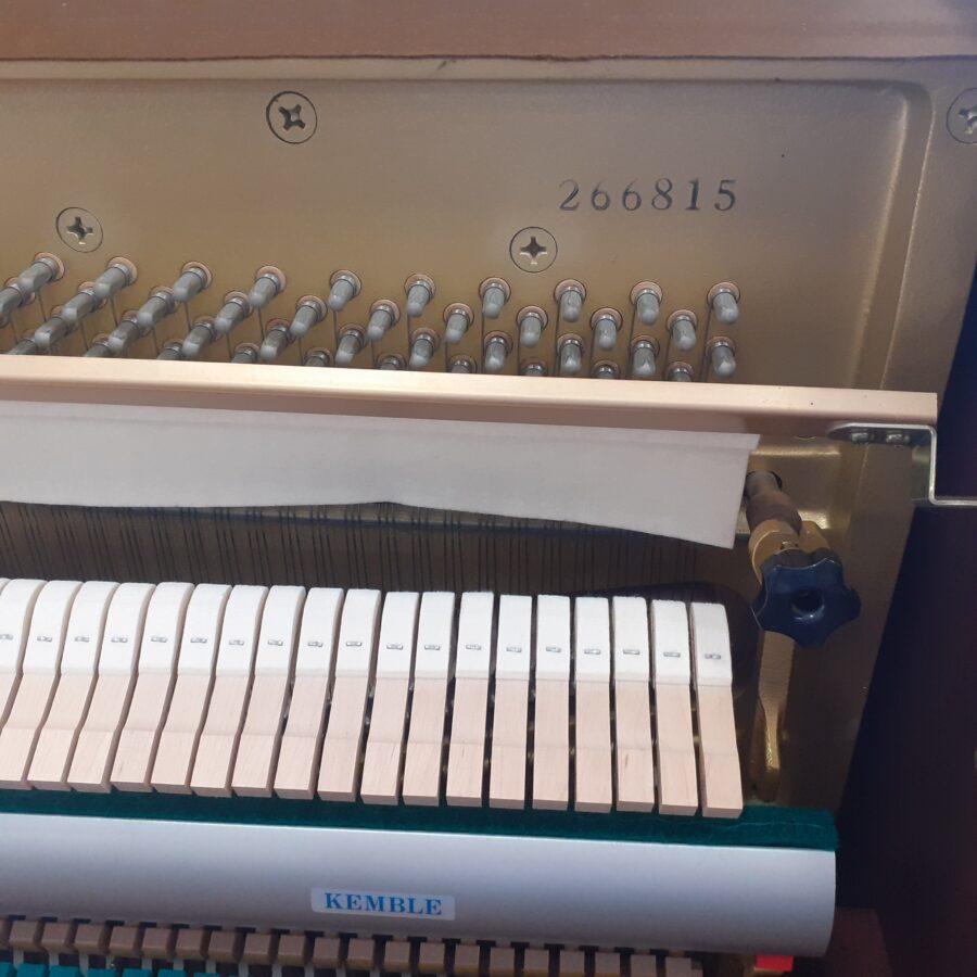 Kemble Cambridge 15 Upright Piano - Mahogany - serial