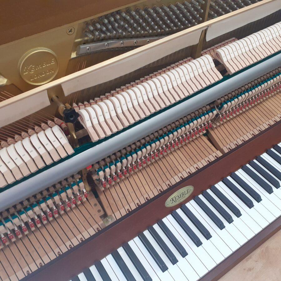Kemble Cambridge 15 Upright Piano - Mahogany - overview