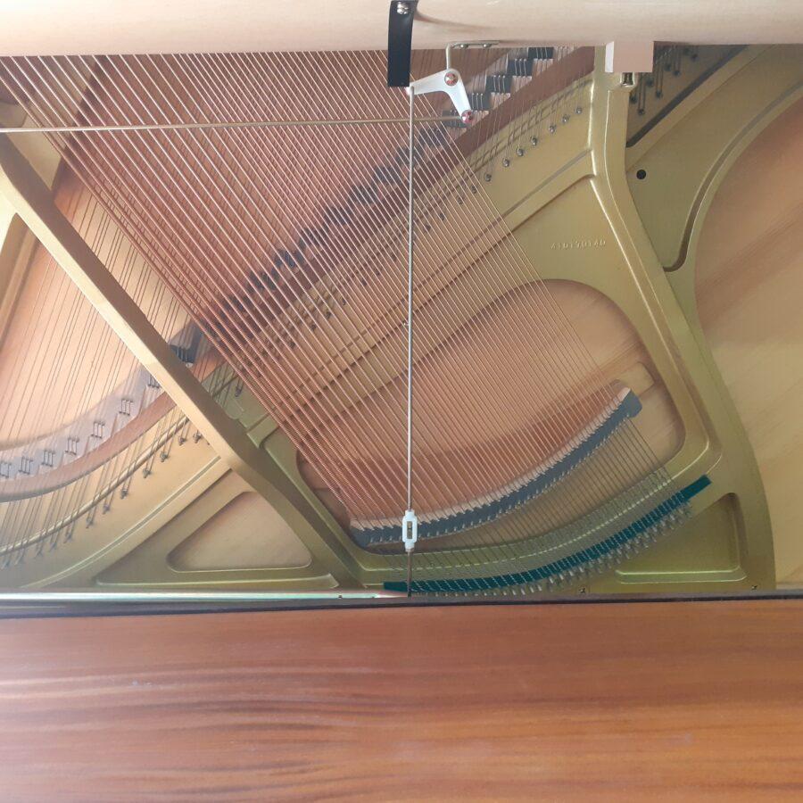 Kemble Cambridge 15 Upright Piano - Mahogany - frame and soundboard