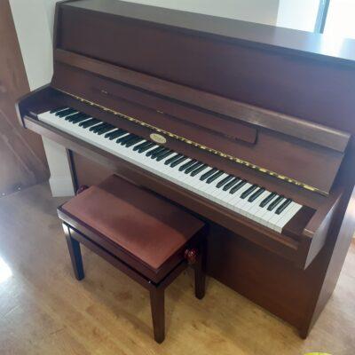 Kemble Cambridge 15 Upright Piano - Mahogany - with Stool
