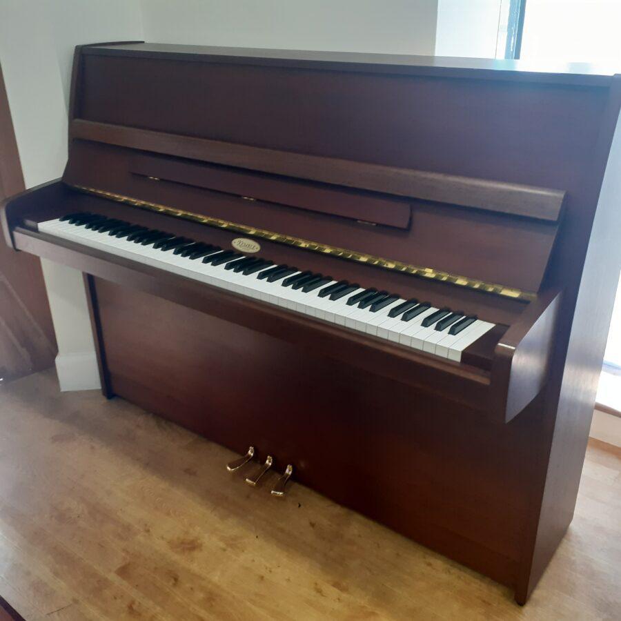Kemble Cambridge 15 Upright Piano - Mahogany open pore satin