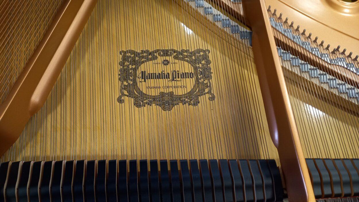 Yamaha C3 grand piano - soundboard decal