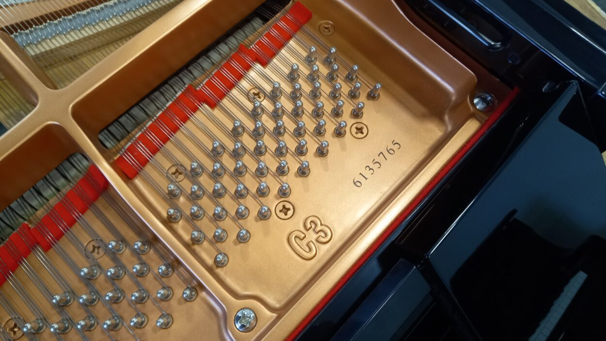 Yamaha C3 grand piano - serial number