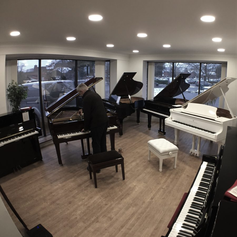 Baby Grand Studio with our range of Baby Grand Pianos