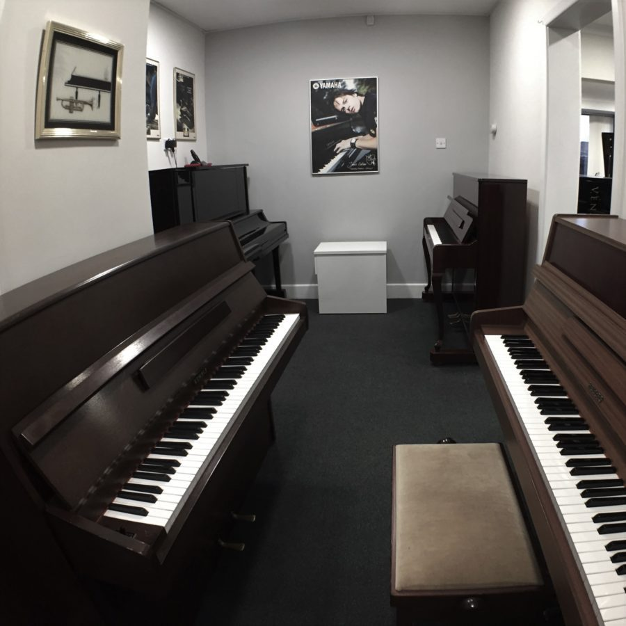 Showroom for Small and Second Hand Upright Pianos