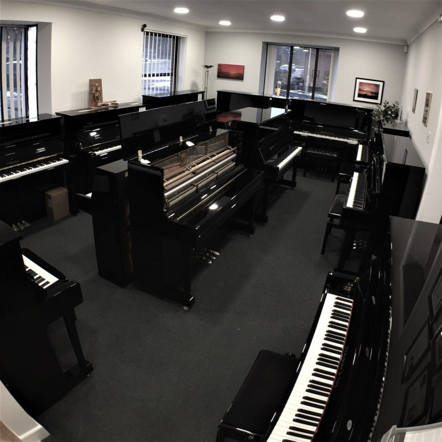 Upright Piano Lounge - our main upright piano room